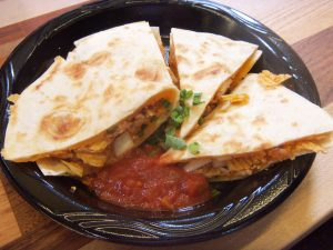 Ruffles Max Smokehouse BBQ Chicken Quesadillas #FritoLayTailgate