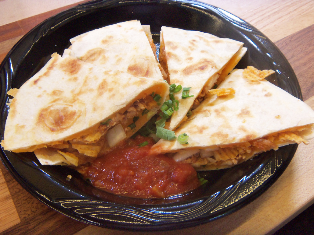 Ruffles Max Smokehouse BBQ Chicken Quesadilla
