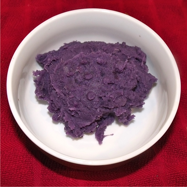 purple mashed potatoes