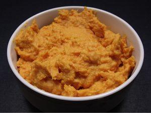 Roasted Garlic Mashed Sweet Potatoes