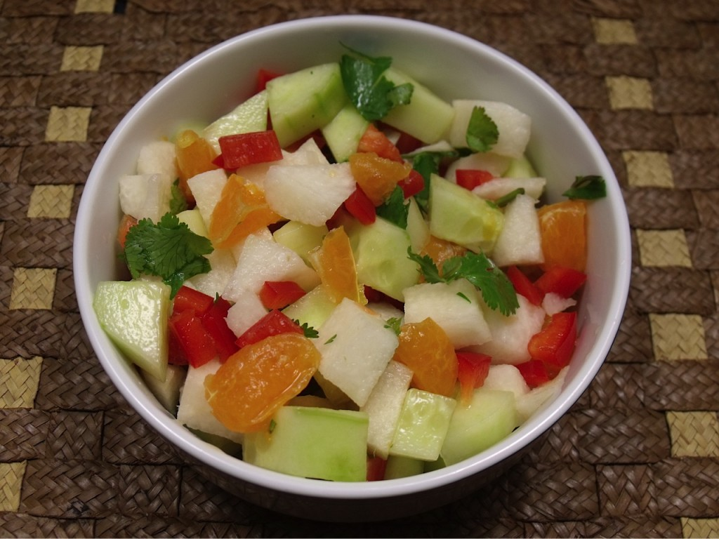 Jicama Salad with Neapolitan Tangerine | Mama Likes To Cook