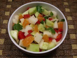 Jicama Tangerine Salad