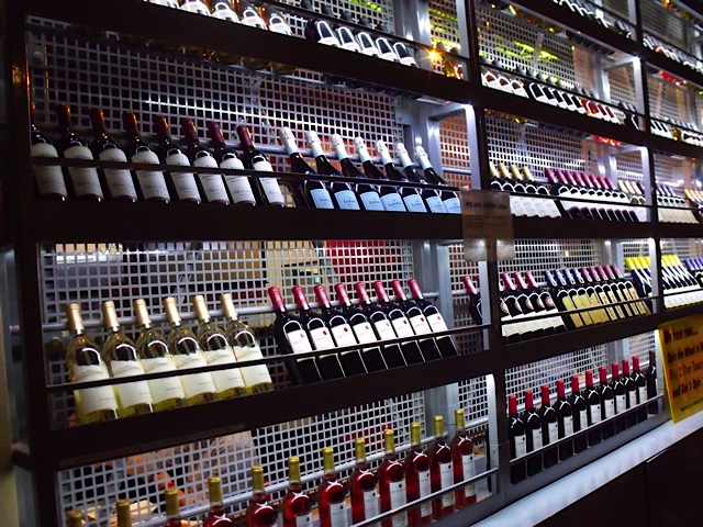 beverage wall