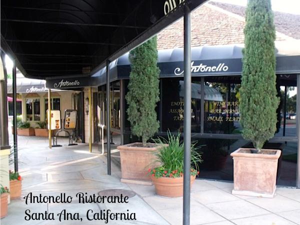Antonello Ristorante Santa Ana, CA