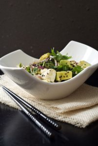 Avocado Tofu Salad