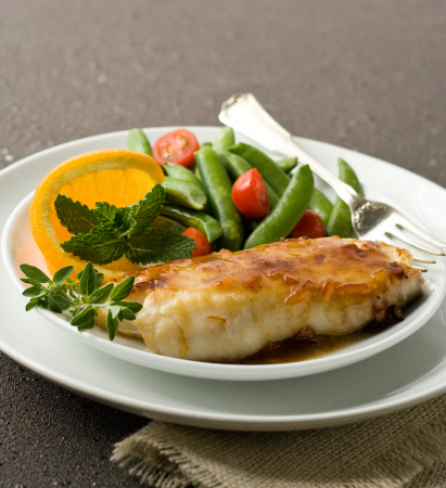 Orange And Honey Tilapia Recipe — Dishmaps