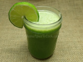 Green Juice - Apple Cucumber Spinach Lime Ginger