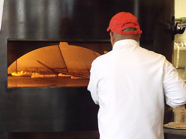 Pizza Oven at SPIN! Pizza