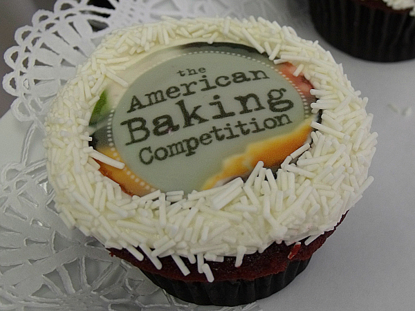 American Baking Competition Cupcake