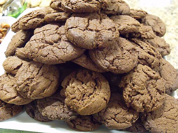 Hatch Chile Devil's Food Cookies