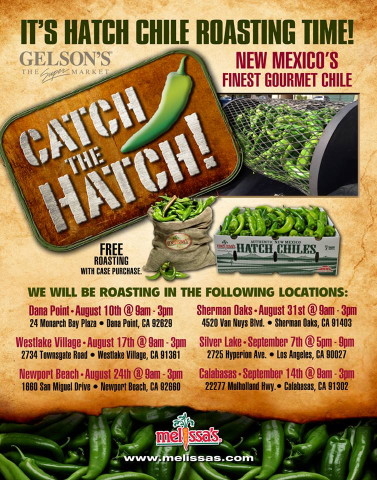 Hatch Chile Roasting at Gelson's Markets