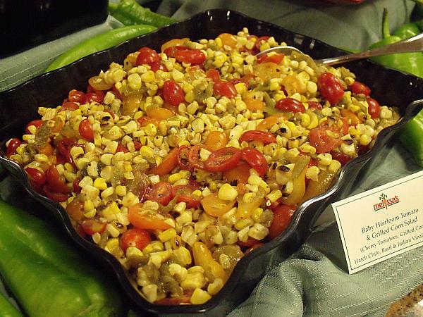 Baby Heirloom Tomato & Grilled Corn Salad