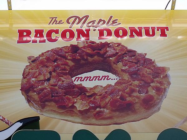 OC Fair Maple Bacon Donut