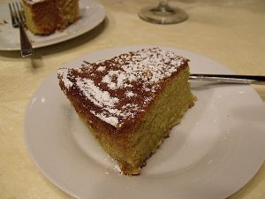 Cat Cora's Olive Oil Cake on The Talk