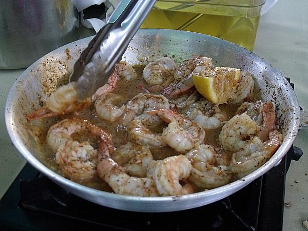 Shrimp - Ralph Brennan's Jazz Kitchen - Downtown Disney - Anaheim, CA