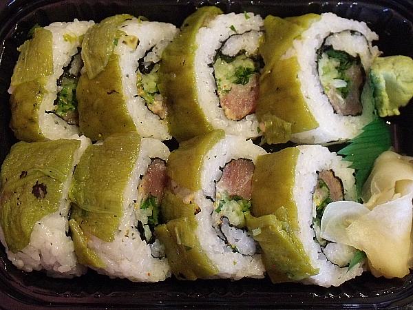 Hatch Chile Sushi
