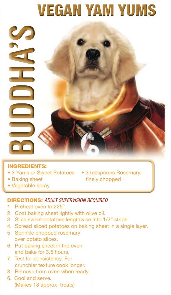 Disney Super Buddies Vegan Yam Yums Dog Treats