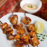 Gluten-free Chicken Tikka Kebabs