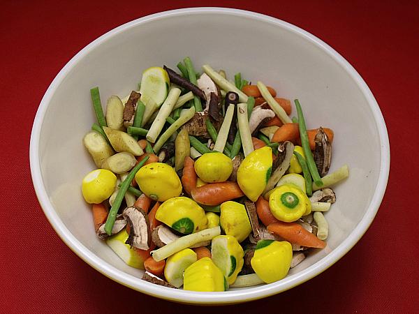 Vegetables for Vegetarian Tofu Stir Fry