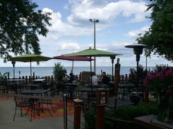 Waterfront Cafe on Lake Michigan - Chicago, IL