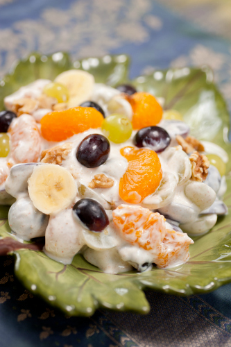 Gluten-free Fruit and Yogurt Medley with Walnuts