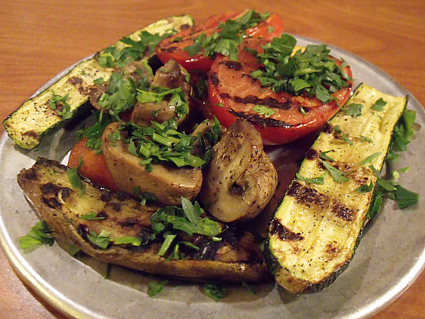 Stonefire Grill Grilled Veggies