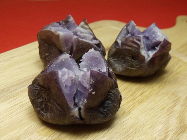 Purple Baked Potatoes