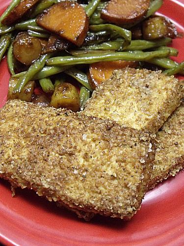 Easy Breaded Tofu