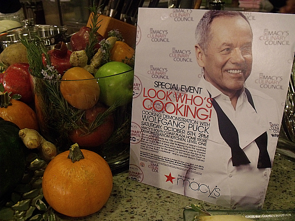 Wolfgang Puck Event at Macy's South Coast Plaza