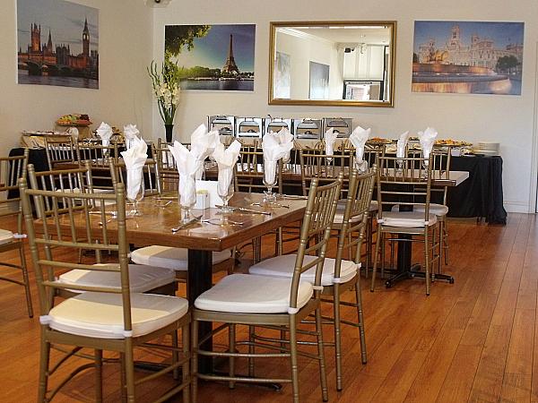 Chef's Catering - Restaurant - Banquet Room Orange, CA