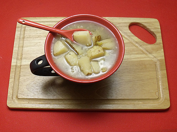 Easy Crock-Pot Potato Leek Soup