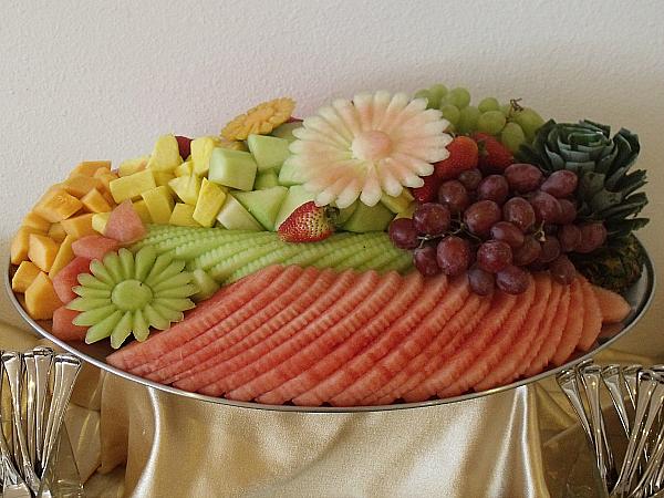 Fresh Fruit at Chef's Restaurant