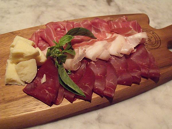 Meat and Cheese at Antonello Ristorante