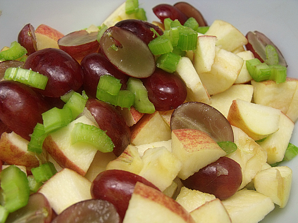 Apple Coconut Waldorf Salad