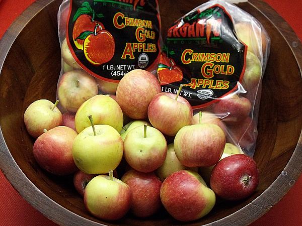 Crimson Gold Apples