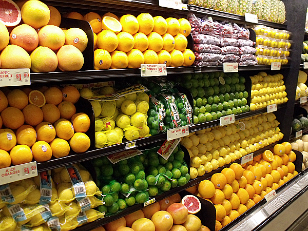 Citrus Fruit at Gelson's Long Beach