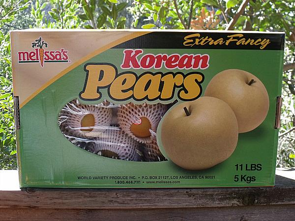 Melissa's Korean Pears