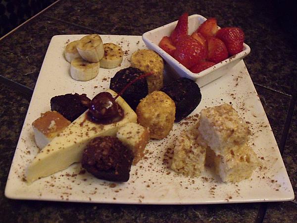 The Melting Pot Desserts
