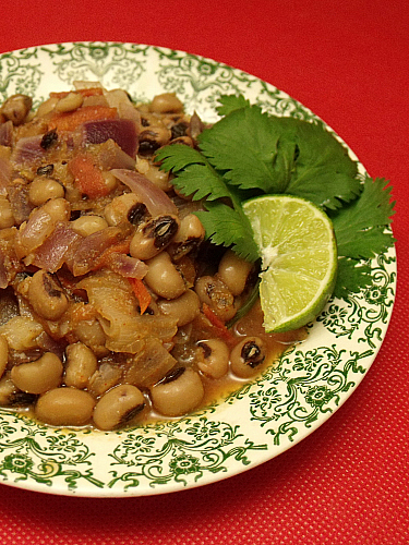 Vegetarian Black Eyed Peas