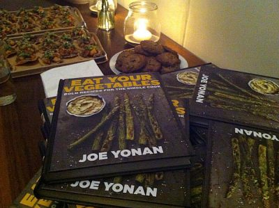 Joe Yonan's Eat Your Vegetables Cookbook Launch