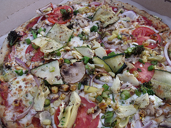 Custom Vegetarian Pizza from The Pizza Studio - Buena Park, California