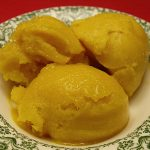 Easy Mango Lime Sorbet Recipe