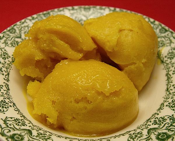 Lime Mango Sorbet Recipe — Dishmaps