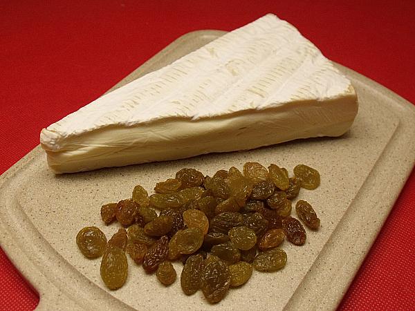 Brie and Golden Raisins