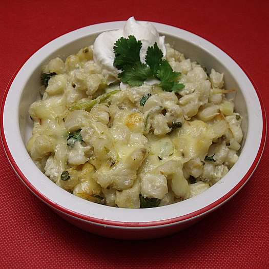 Hominy con Queso ~ Hominy with Cheese