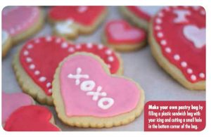 Disney Minnie Mouse's Heart Shaped Valentine's Day Cookies
