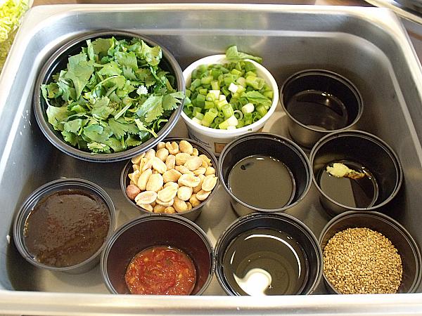 Asian Salad Ingredients