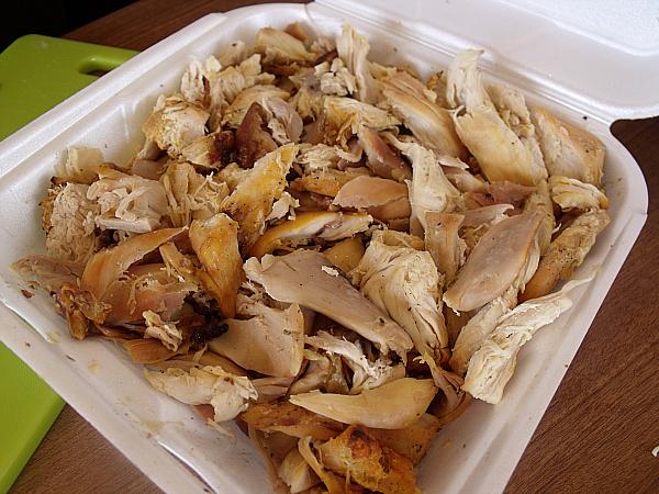 Leftover El Pollo Loco Chicken