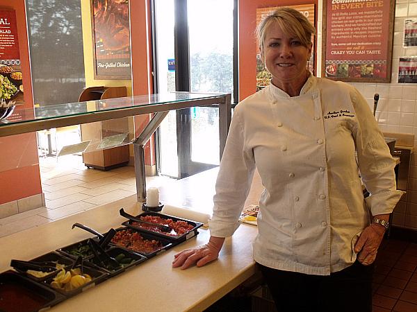 El Pollo Loco Executive Chef, Heather Gardea