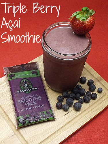 Triple Berry Açaí Smoothie